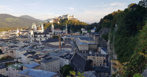Salzburg - Mönchsberg - Museumsblick