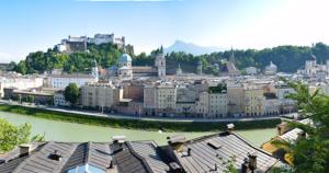 Salzburg - Panorama Kapuzinerberg