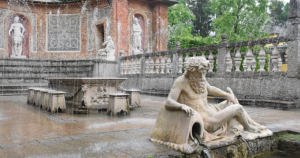 Salzburg - Schloss Hellbrunn - Wasserspiele